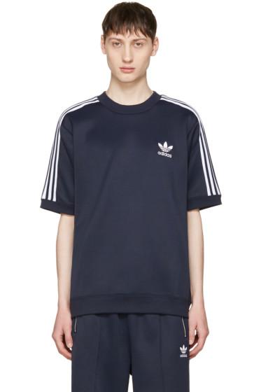adidas Originals - ネイビー CNTP クルー プルオーバー