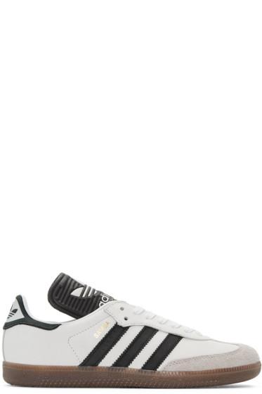 adidas Originals - オフホワイト サンバ クラシック OG MIG スニーカー
