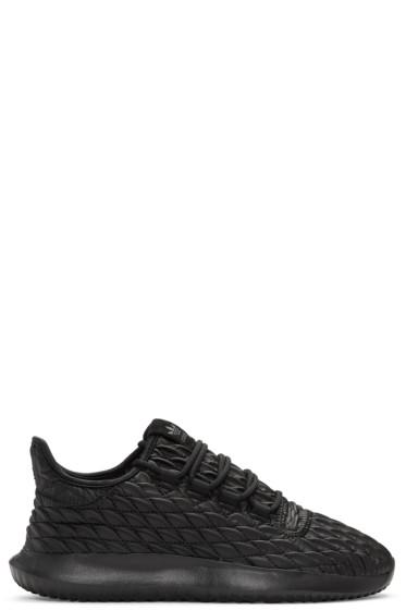 adidas Originals - ブラック チューブラー シャドー スニーカー