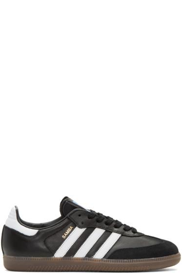 adidas Originals - ブラック サンバ OG スニーカー