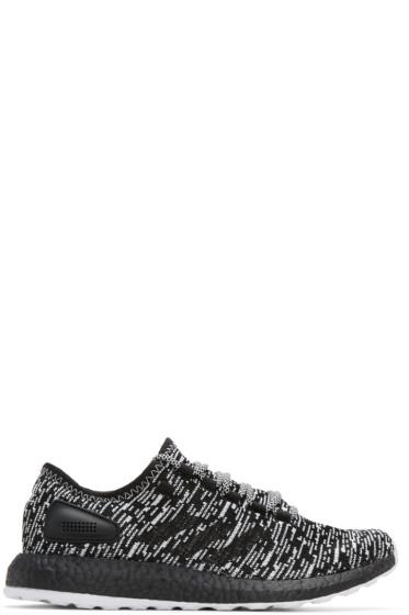 adidas Originals - ブラック & ホワイト ピュアブースト LTD スニーカー