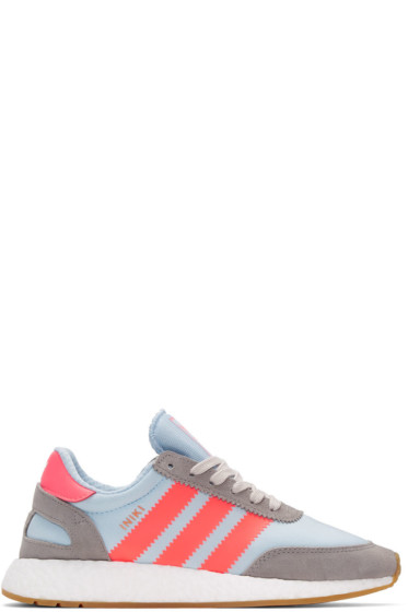 adidas Originals - ブルー イニキ スニーカー