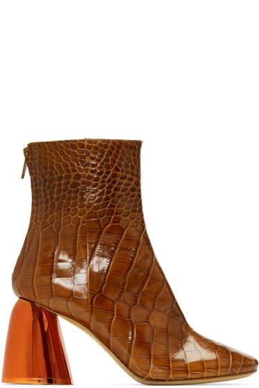 Ellery - Tan Jezebels Ankle Boots