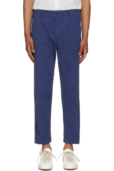 Ganryu - Navy Twill Trousers