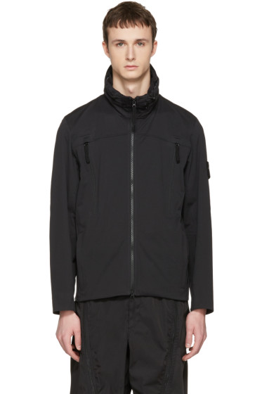Stone Island - Black Zip Pocket Jacket