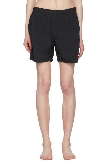 Stone Island - Black Pocket Swim Shorts