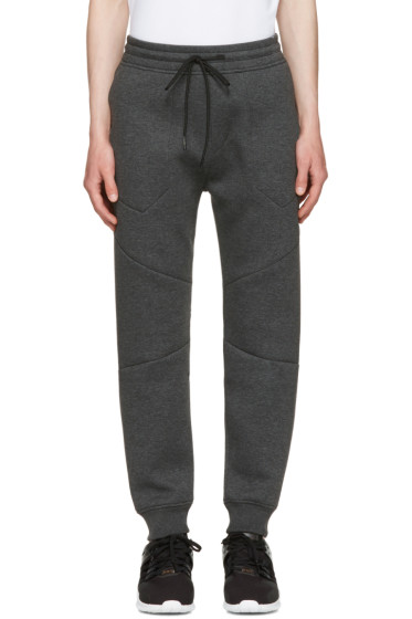 ISAORA - Grey Neo Bonded Lounge Pants