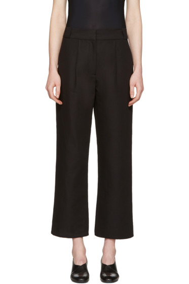 Moderne - Black Tuck Trousers
