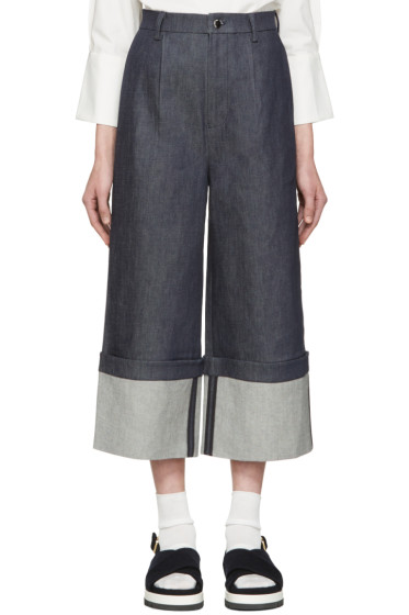 Shushu/Tong - Indigo Wild Ham Jeans