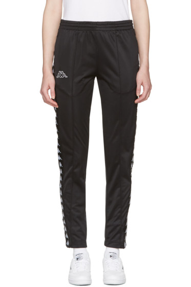 Kappa - Black Banda Astoria Snaps Track Pants