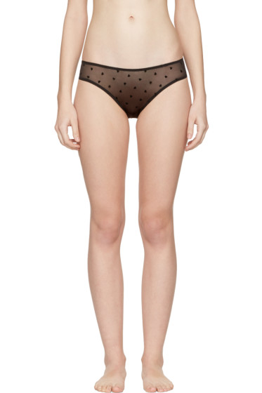 Le Petit Trou - Black Sandrine Bikini Briefs