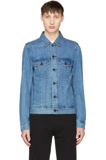 Diesel - Indigo Denim D-Ashton-P Jacket
