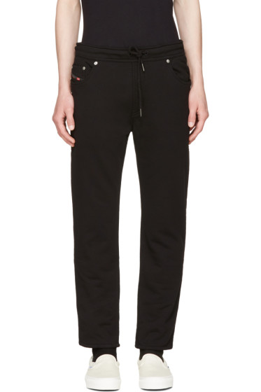 Diesel - Black Jiffery-SW Lounge Pants