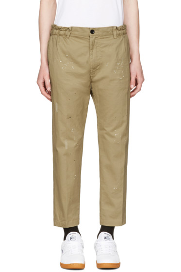 Diesel - Beige P-Mad Trousers