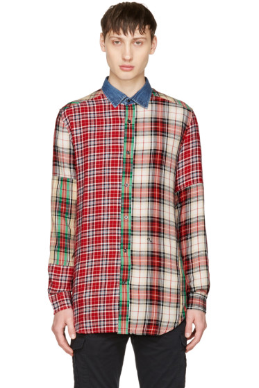 Diesel - Red Check S-Melvin Shirt