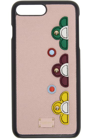 Dolce & Gabbana - ピンク フラワー iPhone 7 ケース