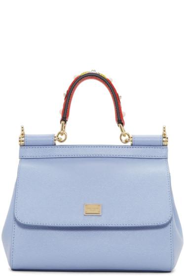 Dolce & Gabbana - Blue Mini Miss Sicily Bag