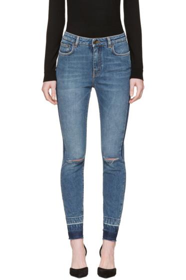 Dolce & Gabbana - Indigo Ripped Audrey Jeans