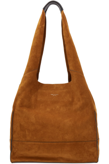 Rag & Bone - Tan Suede Walker Shopper Tote