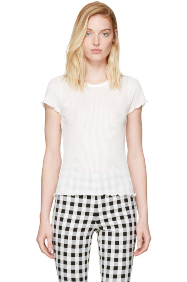 Rag & Bone - White Dillon T-Shirt