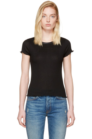 Rag & Bone - Black Dillon T-Shirt