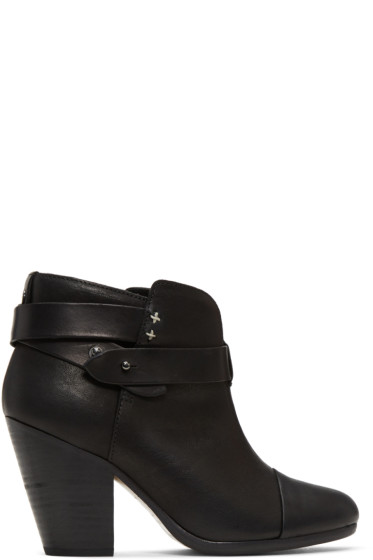 Rag & Bone - Black Harrow Boots