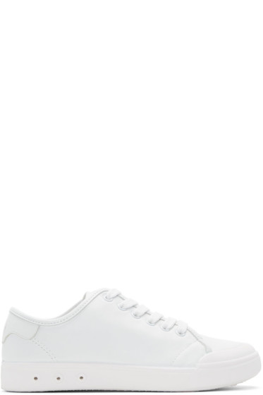 Rag & Bone - White Standard Issue Sneakers