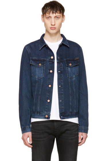 Nudie Jeans - Indigo Denim Billy Jacket