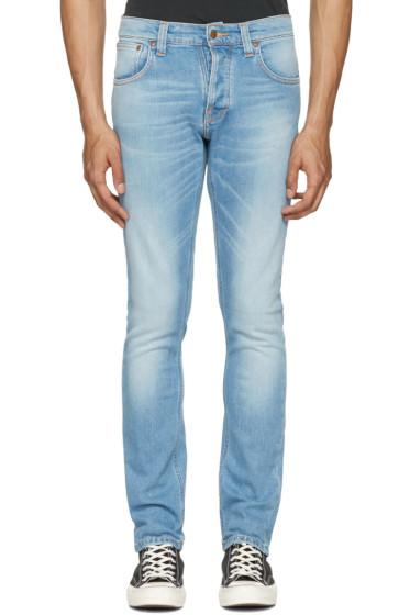 Nudie Jeans - Blue Grim Tim Jeans