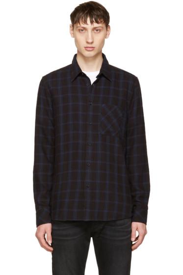 Nudie Jeans - Indigo Sten Window Check Shirt