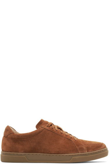 Tiger of Sweden - Brown Suede Arne S Sneakers