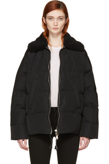 Dsquared2 - Black Quilted Puffer Jacket