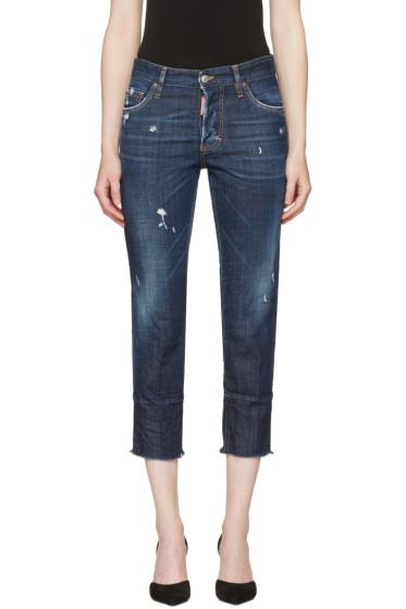 Dsquared2 - Blue Boyfriend Jeans