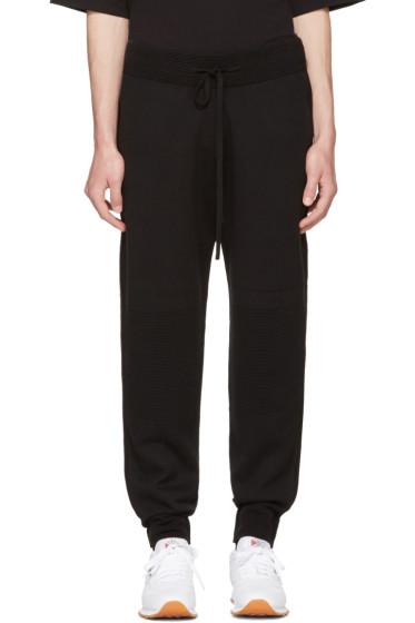Helmut Lang - Black Ottoman Jogger Pants