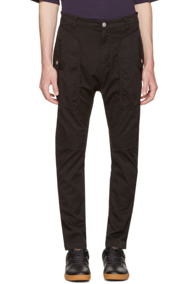 Helmut Lang - Black Utility Trousers