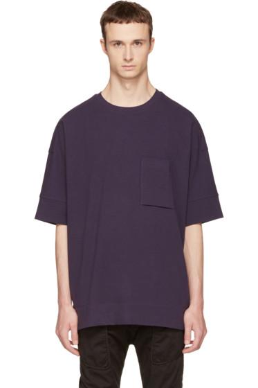 Helmut Lang - Navy Unisleeve T-Shirt
