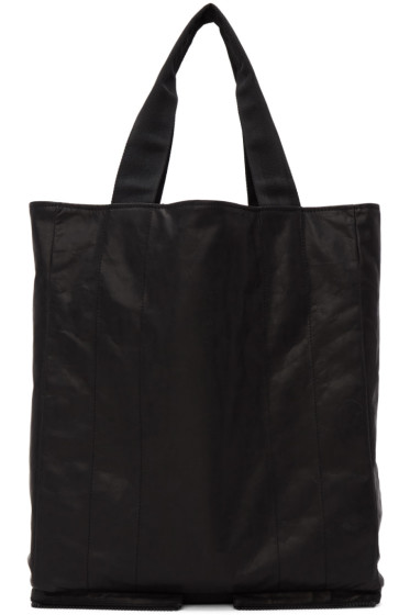 Maison Margiela - Black Leather Tote