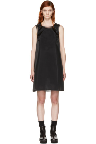 MM6 Maison Margiela - Black Crinoline Dress