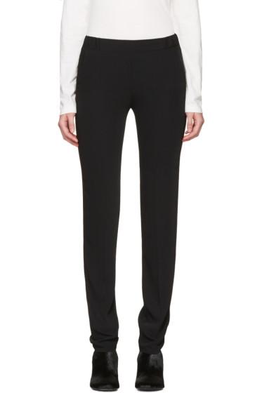 MM6 Maison Margiela - Black Fluid Trousers