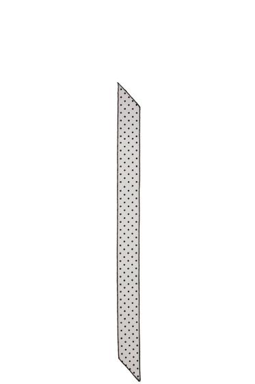 Marc Jacobs - Black Polka Dot Lace Scarf