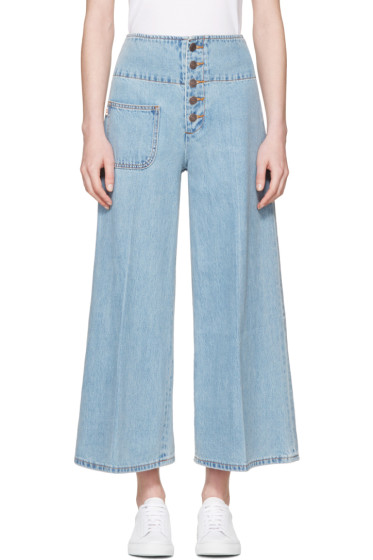 Marc Jacobs - Indigo Wide-Leg Jeans