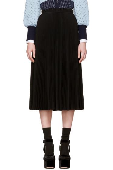 Marc Jacobs - Black Pleated Skirt