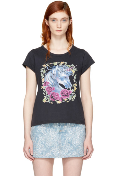 Marc Jacobs - Black Baby Unicorn T-Shirt