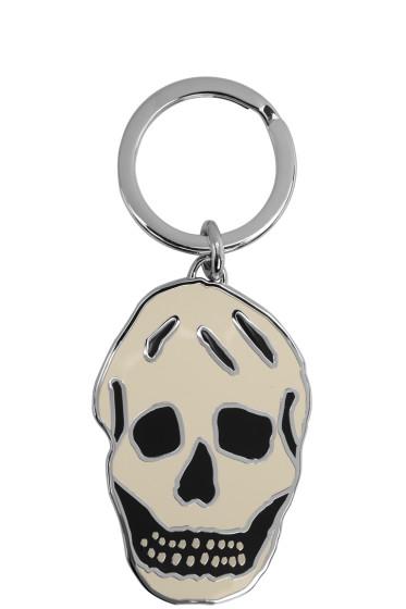 Alexander McQueen - White Skull Keychain