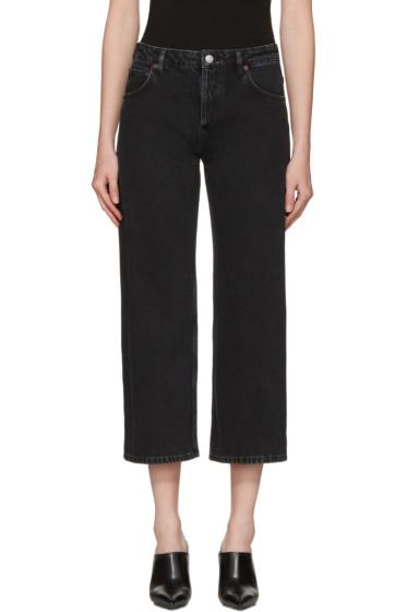 Balenciaga - Black Rockabilly Jeans