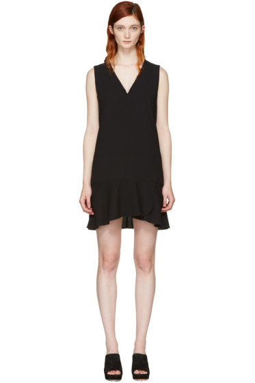 See by Chloé - Black V-Neck Dress