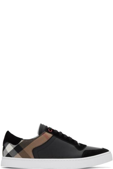 Burberry - Black Reeth Sneakers