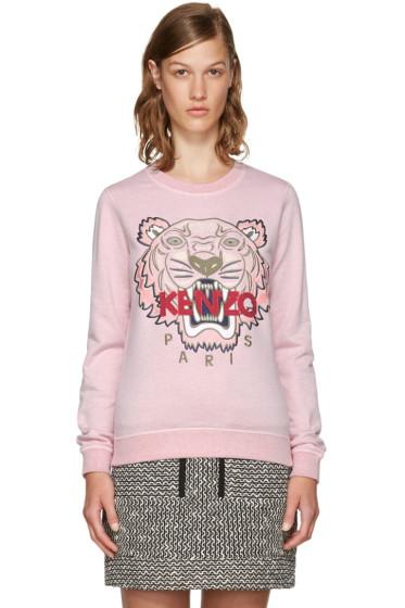 Kenzo - Pink Limited Edition Tiger Sweatshirt