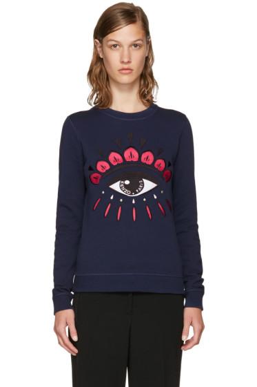 Kenzo - Navy Limited Edition Eye Sweatshirt