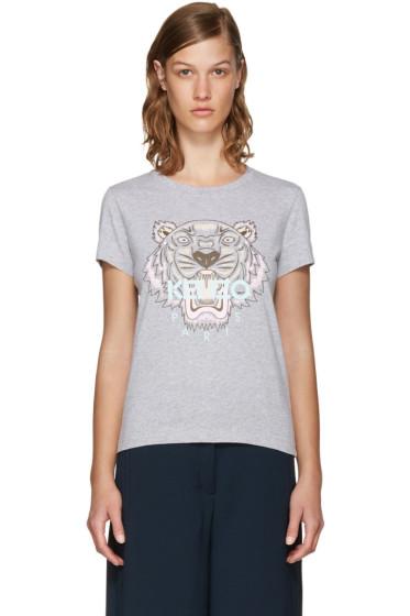 Kenzo - Grey Limited Edition Tiger T-Shirt